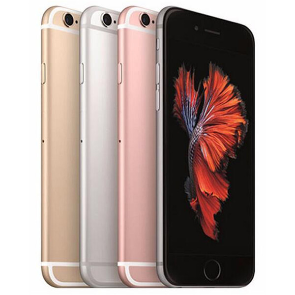 Rinnovato originale per iPhone 6S 4.7 pollici con l'impronta digitale IOS A9 Dual Core da 2 GB di RAM 16/64 / 128GB ROM 12MP 4G LTE cellulare gratis DHL 1pcs