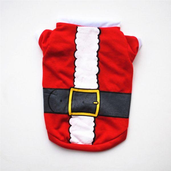 Roter Weihnachtsgürtel