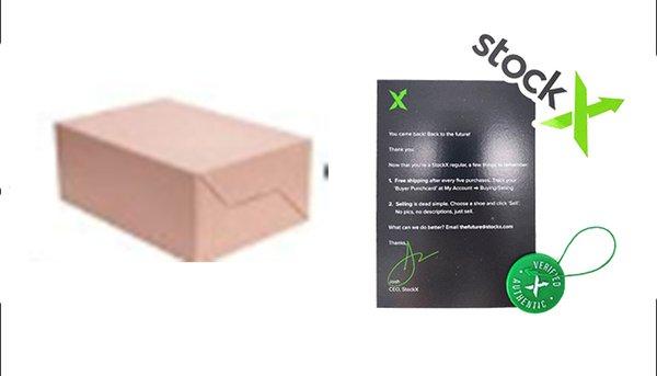 С коробкой + StockX