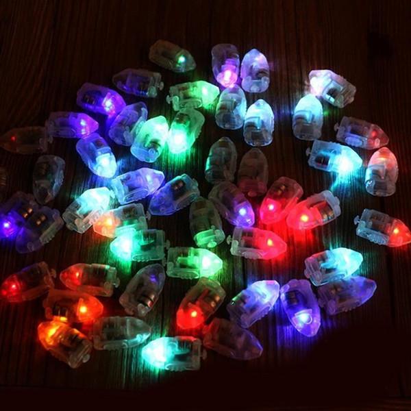 light party 12pcs/lot RGB Flash Lamps Lights for Paper Lantern Balloon Light NOGOO Wedding Decoration led party lights