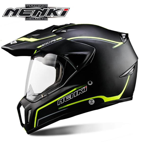 Free Shipping NENKI Motorcycle Helmet 310 Full Face Motorcycle Adult Motocross Off Road Helmet ATV Dirt bike Downhill racing helmet