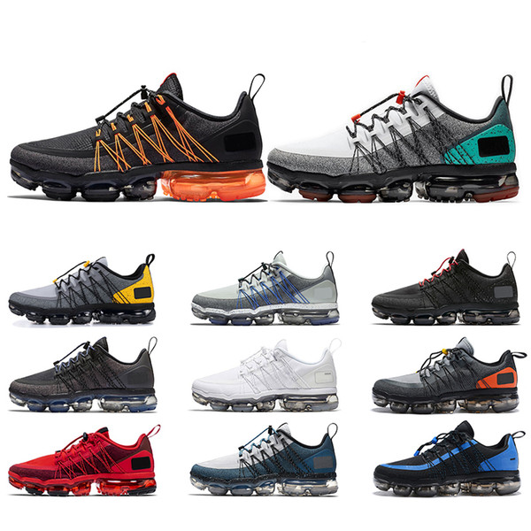 Best Running Shoes 2020.2020 New Run Utility Men Running Shoes Triple Black White Urban Bounce Grey Orange Mens Trainers Sports Sneakers Size 40 45 Wholesale Best Running