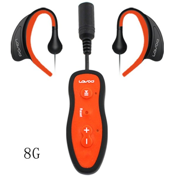 8G Mini MP3 Player FM Radio Swimming Diving Surfing IPX8 Waterproof Outdoor Sport Music Player with Clip Headset Stereo Bass