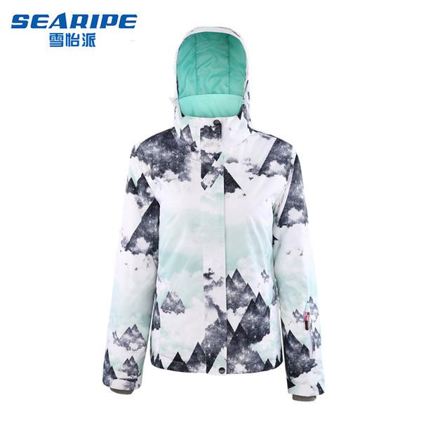 Camisa Corea caliente impermeable Junta doble Snowboard juego de las mujeres al aire libre de ropa de esquí