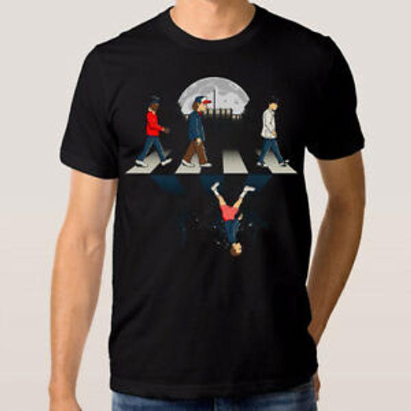 Stranger Things Abbey Road T shirt Uomo 039 s Donna 039 s Tutte le taglie