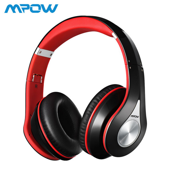 Mpow Best 059 Headphones Wireless Bluetooth 4.0 Headphone Built-in Mic Soft Earmuffs Noise Cancelling Stereo Headset For Phones