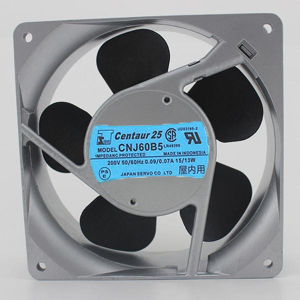top popular Free Shipping Japan servo CNJ60B5 200V 15   13W 12CM 12038 AC electric axial cooling fans 2021