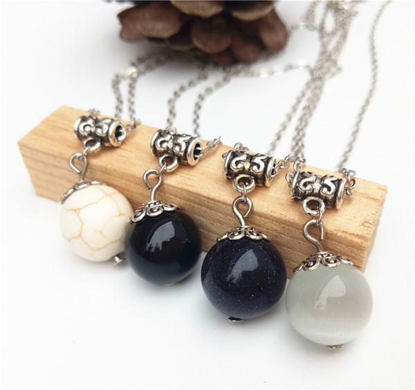 кристалл cecmic натуральный камень кошачий глаз заморозить подвески ювелирные изделия тибетское ожерелье кристалл ювелирные изделия для продажи изготовление