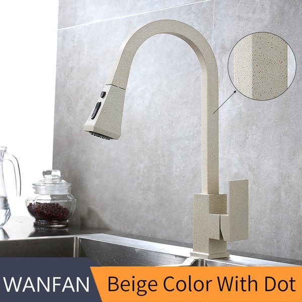 Beige color with dot