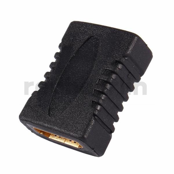 HDMI HDMI V1.4 Kadın Kadın F / F Çoğaltıcı Genişletici Adaptör HDTV HDCP 1080 P HDMI Kablosu Uzatma Konnektör ...