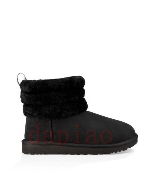 2019 2020 Wgg Fluff Yeah Mini Quilted DesignerUggsLeopard Quilted Motlee Winter Boots Women Girl Lady Amp Multicolor Snow Warm Shoes From Genger,