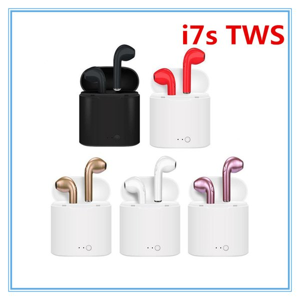 I7s Беспроводные bluetooth наушники спортивная музыка наушники I7s TWS с зарядным устройством для iphone huawei xiaomi samsung все смартфон