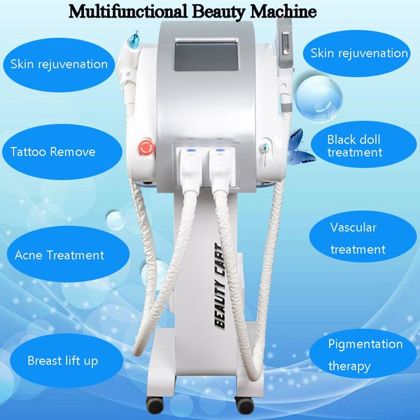 Professional beauty machine ipl hair removal machine radio frequency skin tightening equipment portable OPT SHR laser hair removal machine