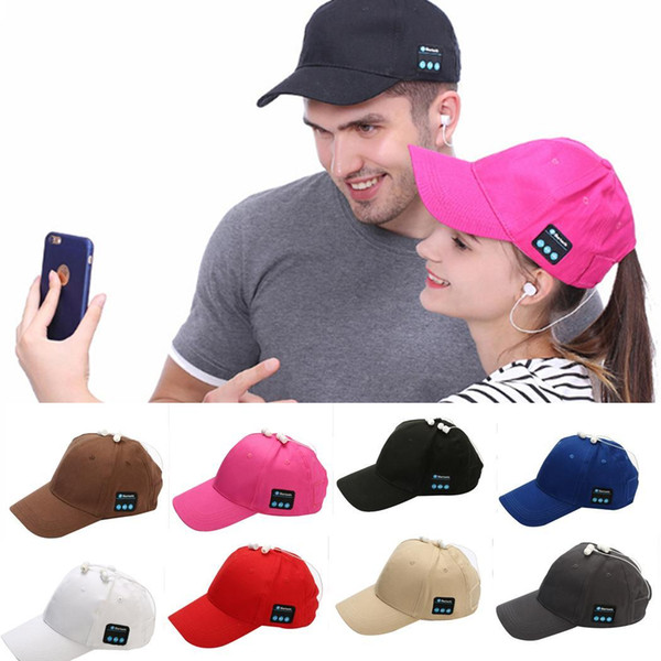 best selling beanie bluetooth music hat Baseball Cap Canvas Sun Hat Music Handsfree Headset with Mic Speaker for Smart Phone with Retail Box