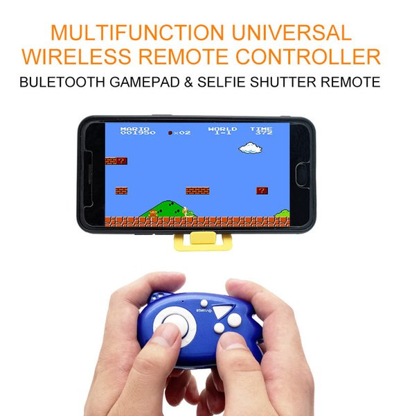 Mini Wireless Nes Game For Android ios Phone Bluetooth Virtual Reality Remote Control FC Game Bluetooth Controller Self-timer By DHL