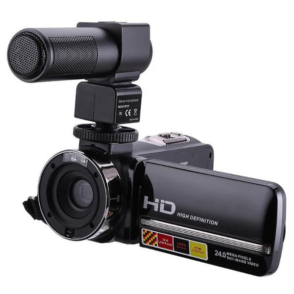 Controle Remoto Infravermelho Night Vision 1080 P 24MP 16X Zoom Digital Câmera Filmadora