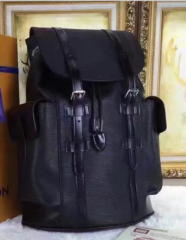 top popular Christopher Backpack Josh Backpacks High Quality Michael Backpack EPI Leather Backpacks Luxury Designer Backpack Famous Brand Name Backpacks 2019