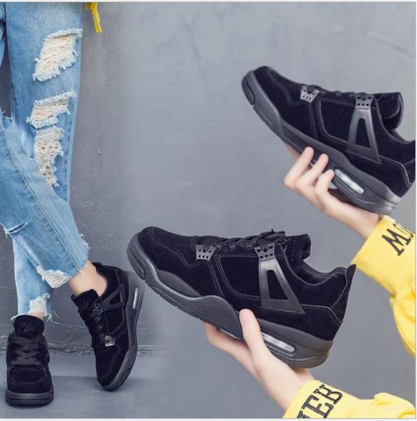 Nuevas zapatillas de deporte transpirables zapatos casuales de suela gruesa para mujer