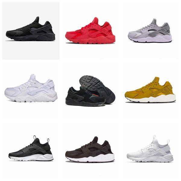 Nike Air Huarache Original heißer Verkauf billig Männer Frauen Sport im Freien Schuhe 1s 1 PK 1.0 Ultra HUA Luxus Designer Laufschuhe offizielle atmungsaktive weiß