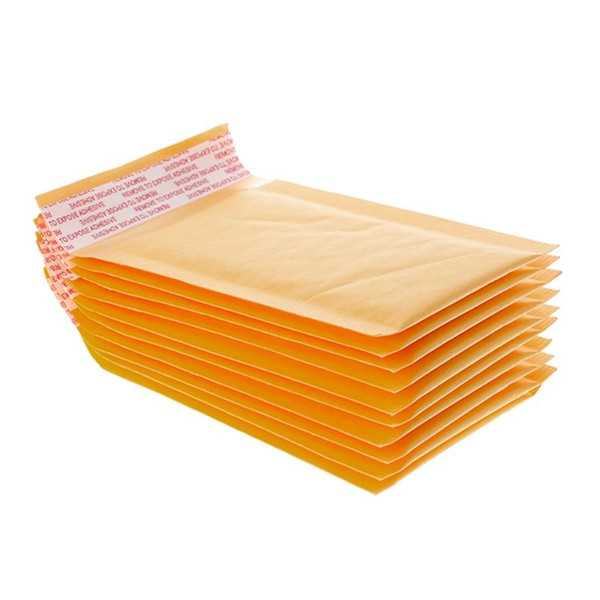 Çanta İş Malzemeleri Posta Balonu ile 9x13cm Kraft Kağıt Kabarcık Zarflar Çanta Postaları Yastıklı Kargo Zarf