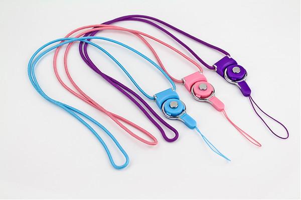 Collier universel de téléphone portable suspendu décoration de corde coréenne tournant mignon dessin animé suspendu corde cintre marque poitrine clé corde livraison gratuite