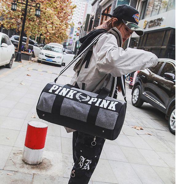 Duffel Bag Big Large Storage Men Women Travel Bag Hangbag Waterproof Gym Pink bag Luggage Bags Fast Shipping Hot New