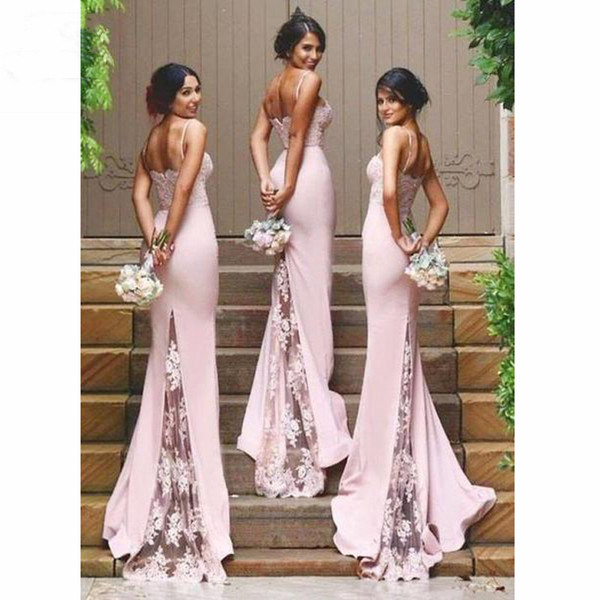 Charming Pink Wedding Guest Dress Maid Of