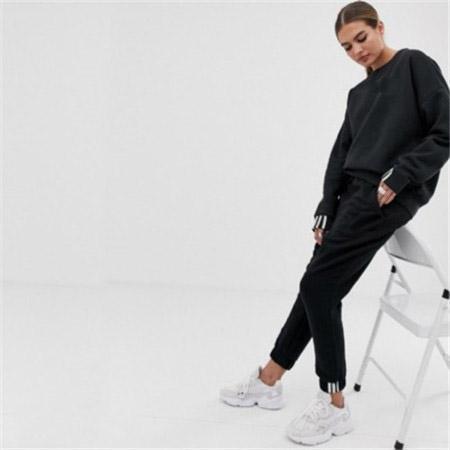 De alta calidad de las mujeres activas Diseñador chándales rompevientos + pantalones deportivos ejecución de conjunto de la universidad manera ocasional se adapta a las bragas de la capa con la QSL198262