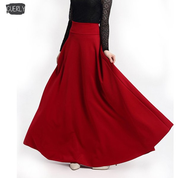 Skirt Size Pleated S 5Xl Solid Sexy Skirts Harajuku Elegant Black Red Plus Evening Party Clud Female Fashion Office Ladies