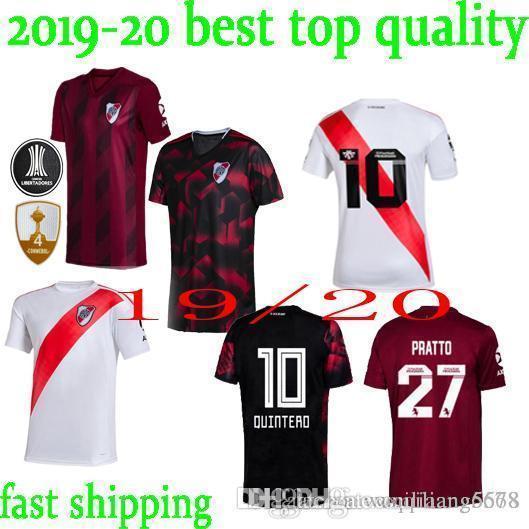 in stock 19 20 River Plate Soccer Jerseys PONZIO PRATTO QUINTERO Football Shirt PALACIOS River Plate Camiseta Alternativa BORRE Jersey