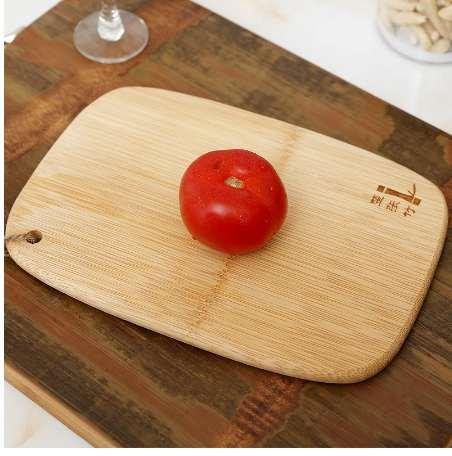New Thick Natural Bamboo Chopping Blocks Rectangular Board Kitchen Cutting Boards Bread and Fruit Vegetables Chopping Board