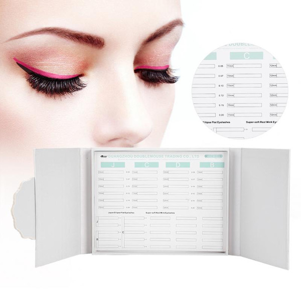 Professional Makeup Tool False Eyelash Display Box Lashes Storage Organizer Case Jewelry Dispaly Box Cosmetics Tools