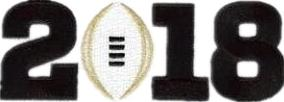 2018 Championship Patch (Balck Number)