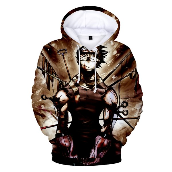 2019 new Naruto 3d Hoodies Men/women Fashion Hot High Quality 3d Print Naruto Harajuku Hip Hop Men's Hoodies And Sweatshirt