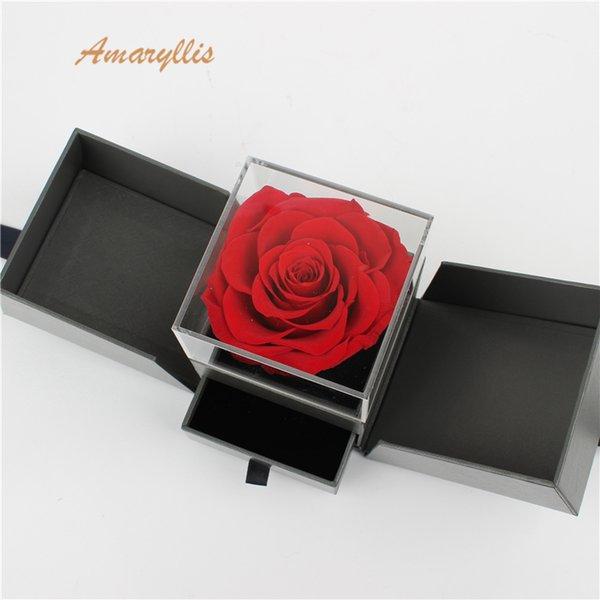 Амариллис Высококачественная мягкая на ощупь вечная навеки бессмертная цветочная композиция.