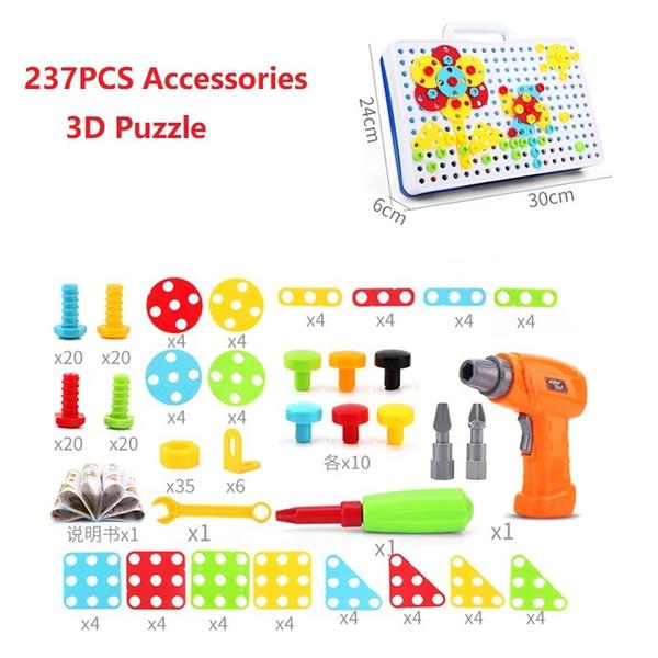 237PCS 3D puzzle