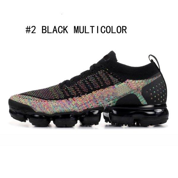 BLACK MULTICOLOR