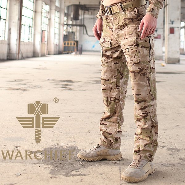 Desert Camouflage Tactical Pants