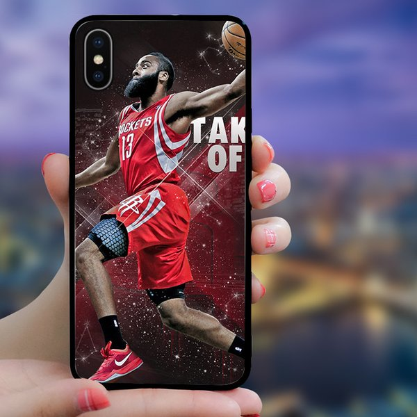 8 Styles Designer Sports Start Phone Cases for IPhone XSMAX XS XR X 6 7 8 Plus TPU Fashion Cover for Men Women
