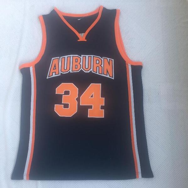 2019 Ncaa Auburn Tigers 34 Charles Barkley Basketball Shirt Mens Charles Barkley College Basketball Jerseys Stitched University Uniform From