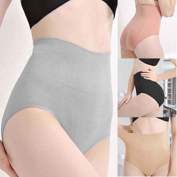 Women High Waist Seamless Slim Shapewear Tummy Control Panties Slimming Waist Trainer Postpartum Abdomen Body Shaper Underwear