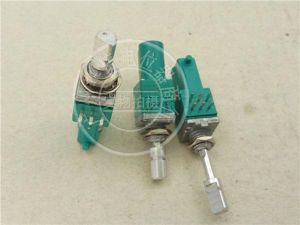 Alpes Double B50k Potentiometer Apportez Midpoint flexible Poignée longue 23mm Potentiometer