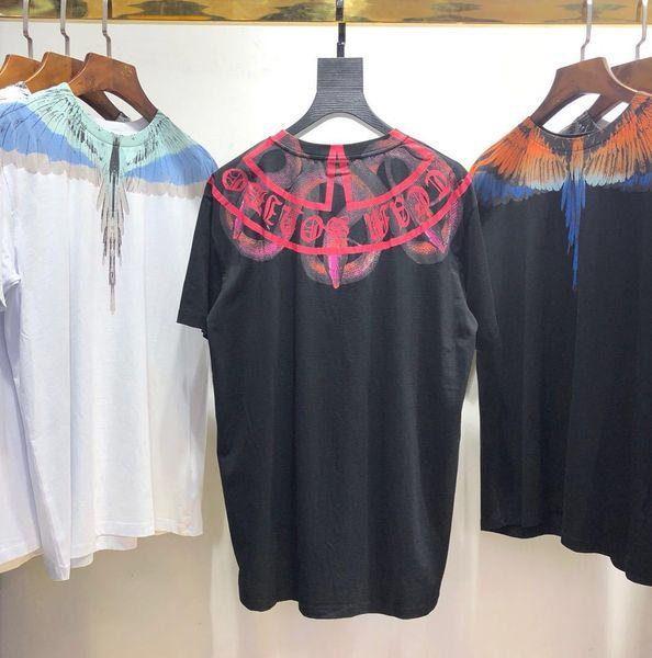 Marcelo Burlon Mens Summer Snake Print Magliette girocollo manica corta moda abbigliamento stile Hip Hop sciolto