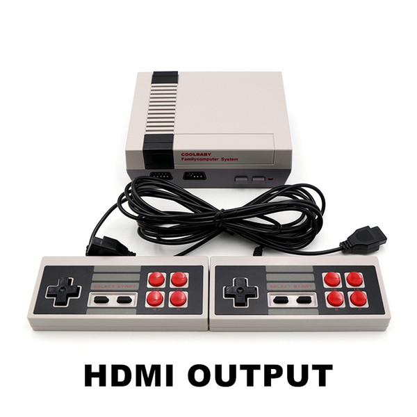 best selling Coolbaby HDMI Mini Game Console Video Player Can Store 600 Games 8 Bit NES Family Gift Cradle Desgin