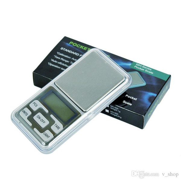 top popular Hot Mini Electronic Pocket Scale 100g 200g 0.01g 500g 0.1g Jewelry Diamond Scale Balance Scale LCD Display with Retail Package 2020