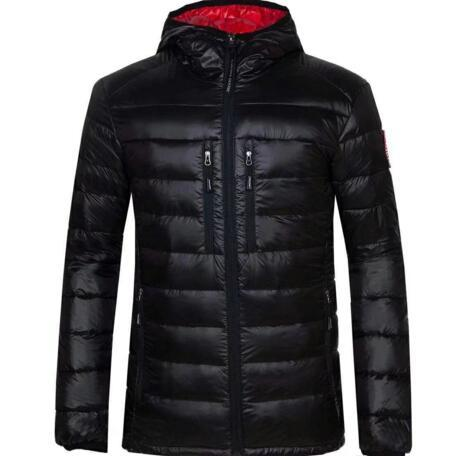 Winter Jacket Men Clothes 2018 New Brand Hooded Parka Cotton canada Coat Men Keep Warm goose Jackets Fashion Coats 7696