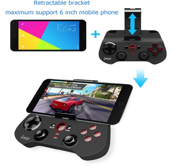 Newest IPEGA PG-9017S Bluetooth Game Console PG 9017S Wireless Gamepad Game Controller Gaming Joystick For Android Smartphone TV Box PC