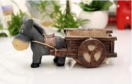 child shop living room fashion cute personality trend donkey pull cart pull grinding creative with cover ashtray home furnishing articles