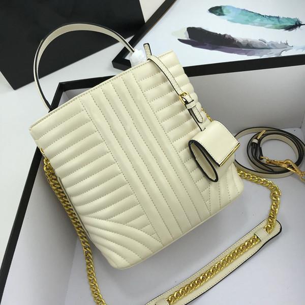 Les dernières dames sac seau bandoulière sac à main en toute sécurité de la mode fil de broderie et broderie en ligne pratique design9ed5 #
