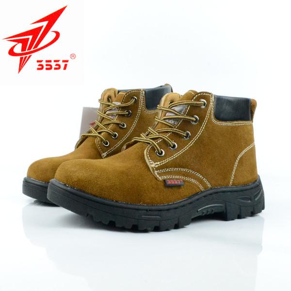 Мужчины Труда Страхование Труда Весна Anti-Smashing Stab Защитная Обувь Сварочные Работы Защитная Обувь Размер 39-44